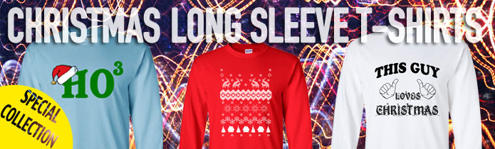 Christmas Long Sleeeve T-shirt