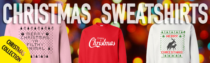 Christmas Crewneck Sweatshirts