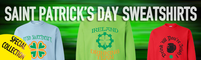 Saint Patrick's Day Crew Neck Sweatshirt