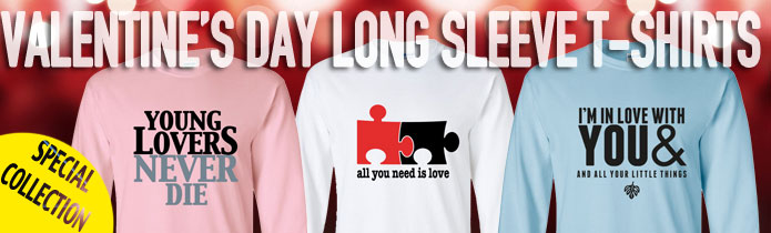 Valentine's Day Long Sleeve T-shirts