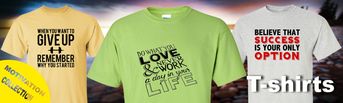 Motivation T-shirts