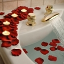 Floating Silk Rose Petals