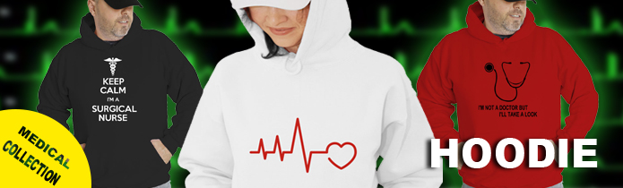 Medical/nursing Hooded Sweatshirts