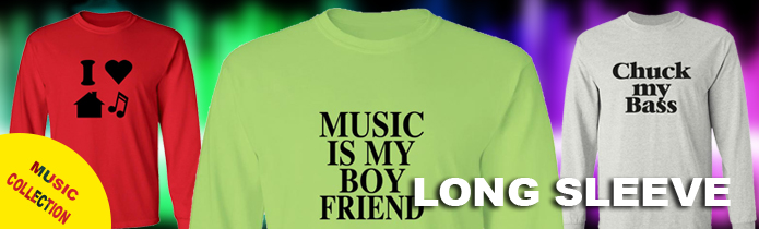 Music Long Sleeve T-Shirts