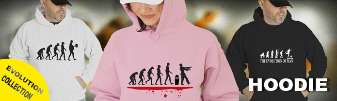 Evolution Of Man Hoodies