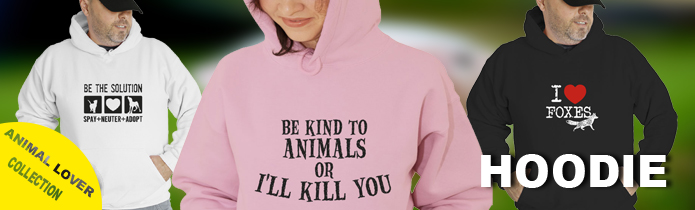 animal Lovers Hoodies