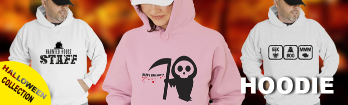 Halloween Hooded Sweatshirt