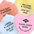 Personalized silk rose petals