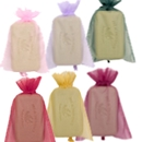 Sheer Organza Pouches 4x6