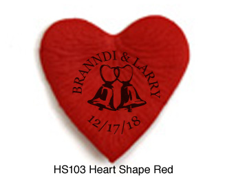 HS103 Heart-Shape-Red