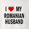 I Love My Romanian Husband Crew Neck Sweatshirt