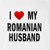 I Love my Romanian Husband T- Shirt