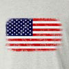 American Flag Horizontal Long Sleeve T-Shirt