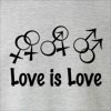 Love is Love Neck Sweatshirt
