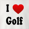I Love Golf Crew Neck Sweatshirt