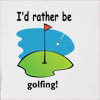 I'd Rather Be Golfing Hooded Sweatshirt