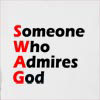 Someone Who Admires God Hooded Sweatshirt