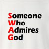 Someone Who Admires God Crew Neck Sweatshirt