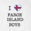 I Love Faroe Island Boys T-shirt