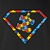 Autism is a Super Power Crew Neck Sweatshirt