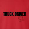 Truck Driver Off Duty crew neck Sweatshirt