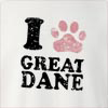I Great Dane Crew Neck Sweatshirt