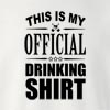 Official_Drinking_Shirt Crew Neck Sweatshirt