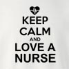 Keep_Calm_And_Love_A_Nurse Crew Neck Sweatshirt