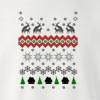 Reindeer Humping Merry Christmas Crew Neck Sweatshirt