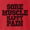 Sore Muscle Happy Pain crew neck Sweatshirt