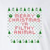Womens Ugly Christmas Sweater Long Sleeve T-Shirt