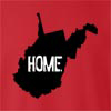 West Virginia Home Crew Neck Sweatshirt