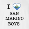 I LOVE SAN MARINO BOYS T-shirt