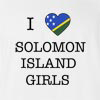 I love Solomon Island Girls T-shirt
