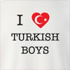I Love Turkey Boys Crew Neck Sweatshirt