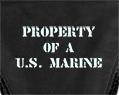 Property Of A U.S. Marine Sexy Thong Underwear