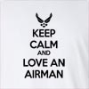 Keep Calm And Love An Airman Long Sleeve T-Shirt