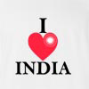 I Love India Ashoka Dharma T-Shirt