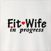 Fit Wife In Progress Crew Neck Sweatshirt