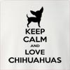 Keep Calm And Love Chihuahuas Crew Neck Sweatshirt