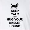 Keep Calm And Hug Your Basset Hound Long Sleeve T-Shirt