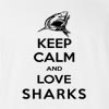 Keep Calm And Love Sharks T-Shirt