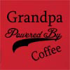 Grandpa Powered By Coffee Hooded Sweatshirt