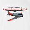 North American Harvard Texan ZK-TVI T-Shirt