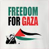 Freedom For Gaza Crew Neck Sweatshirt