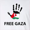 Free Gaza Long Sleeve T-Shirt