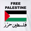 Free Palestine Arabic Long Sleeve T-Shirt