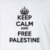 Keep Calm And Free Palestine Long Sleeve T-Shirt