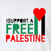 I Support A Free Palestine Long Sleeve T-Shirt