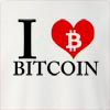 I Love Bitcoin Crew Neck Sweatshirt
